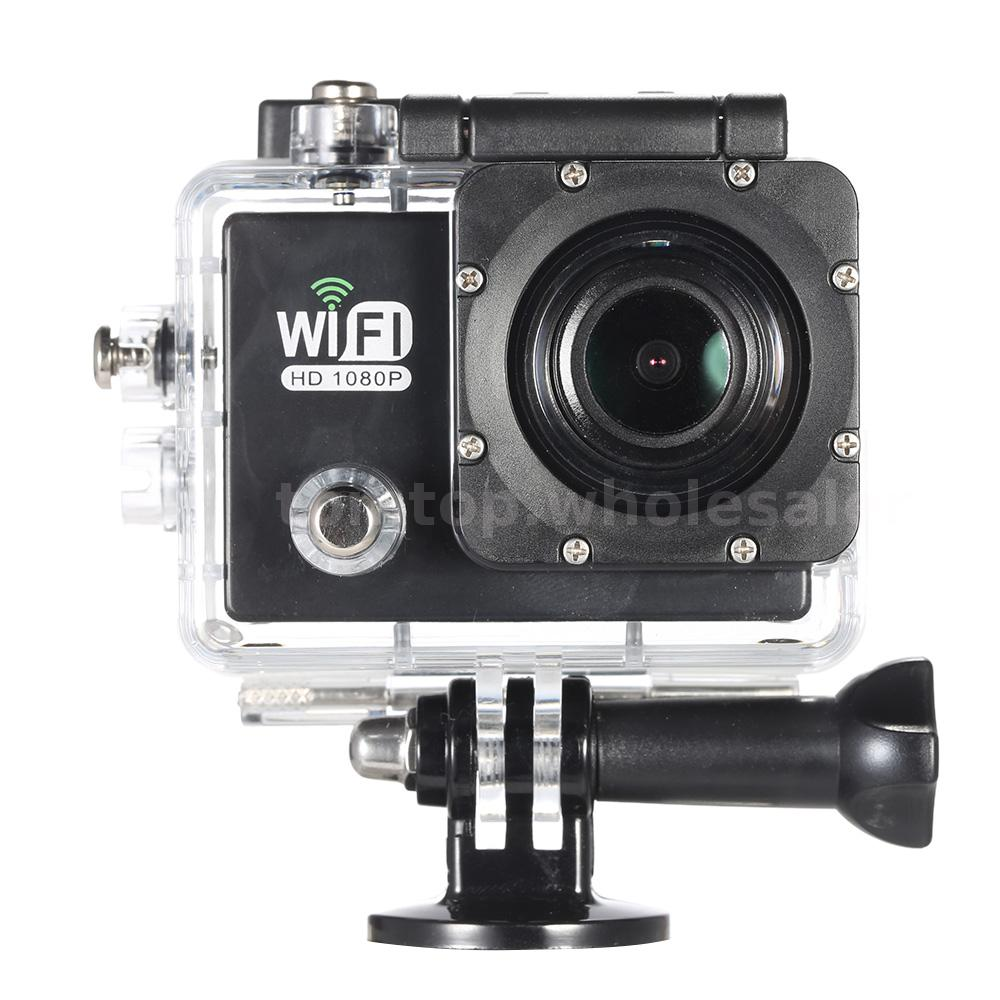 WiFi FULL HD 1080P 12MP Waterproof Sport DV Action Camera ...