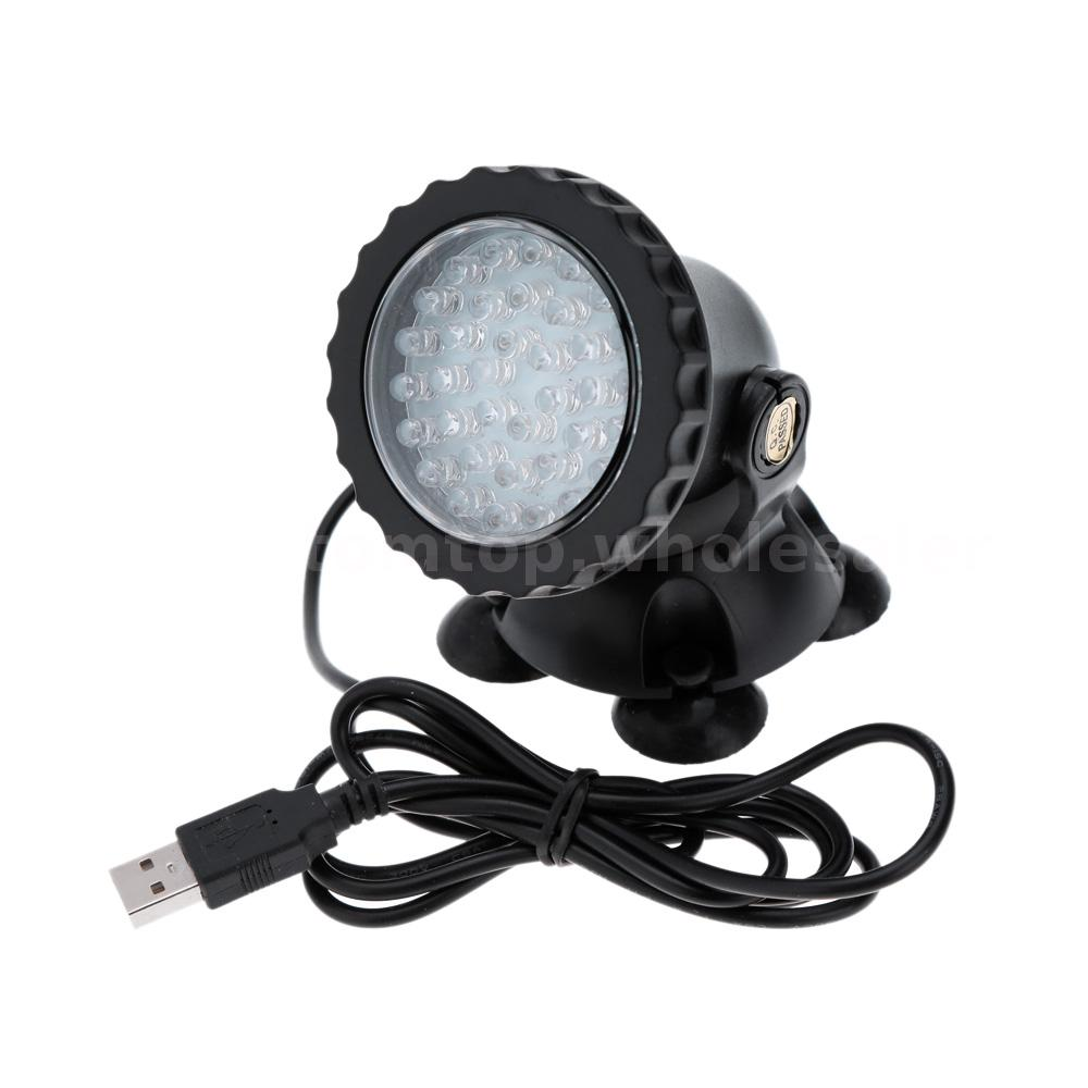 multicolor 36 led underwater spot light water aquarium garden pond tank ebay. Black Bedroom Furniture Sets. Home Design Ideas