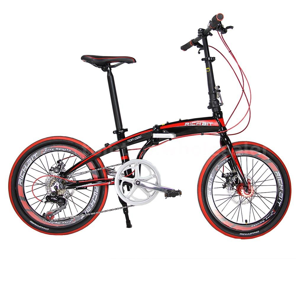 20 Folding Bike 7 Speed Bicycle Fold Storage School